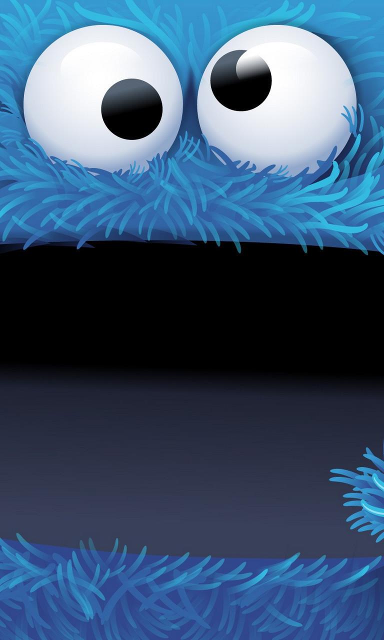 Free Big Cookie Monster.jpg phone wallpaper by twifranny
