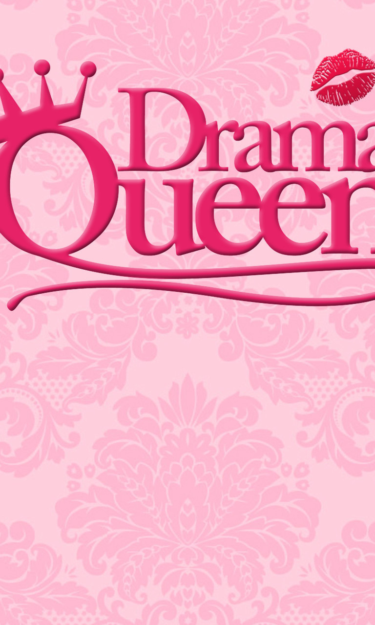 Free Drama Queen Pink.jpg phone wallpaper by twifranny