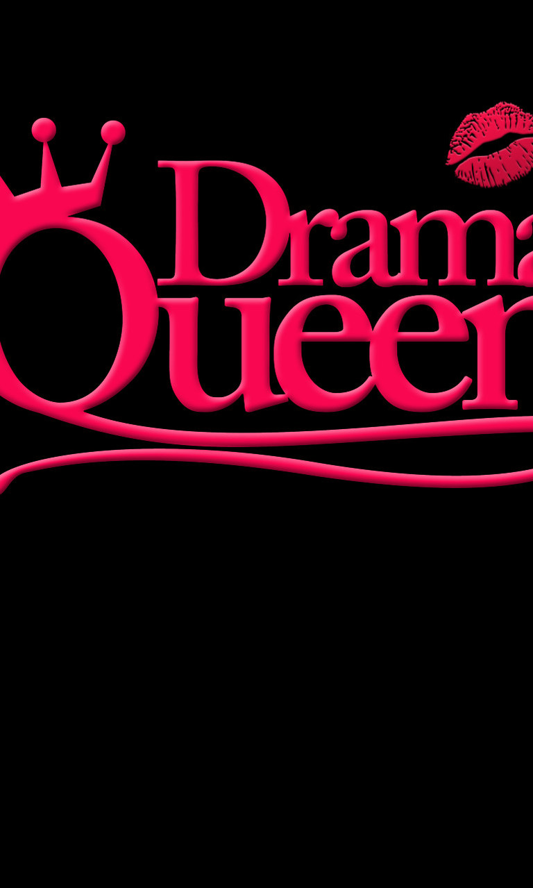 Free Drama Queen Black.jpg phone wallpaper by twifranny
