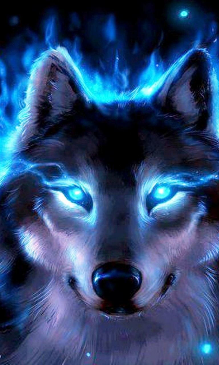 Free Look at Me Wolf.jpg phone wallpaper by twifranny