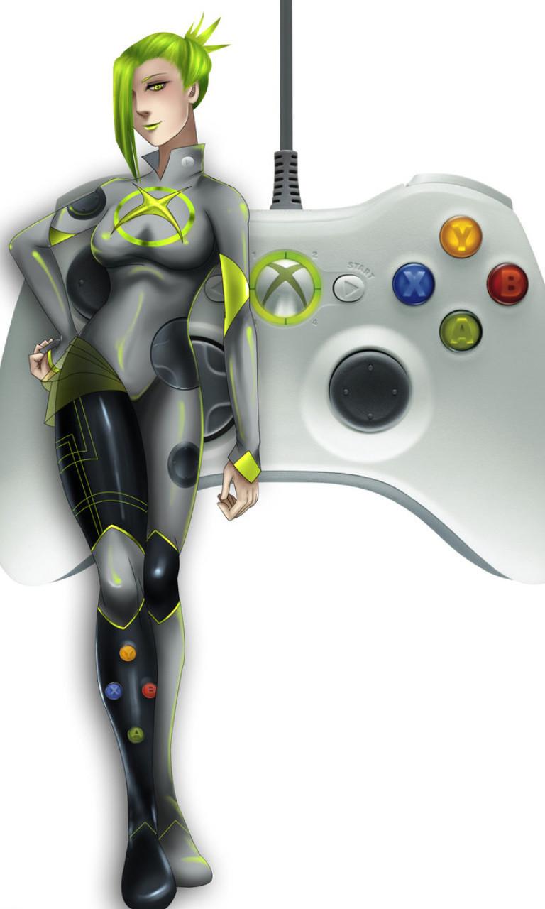 Free Xbox 360 Girl.jpg phone wallpaper by twifranny
