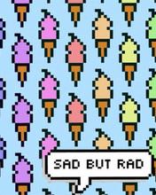 Free sad but rad phone wallpaper by matthew3213