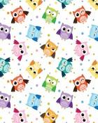 Owl Pattern wallpaper 1
