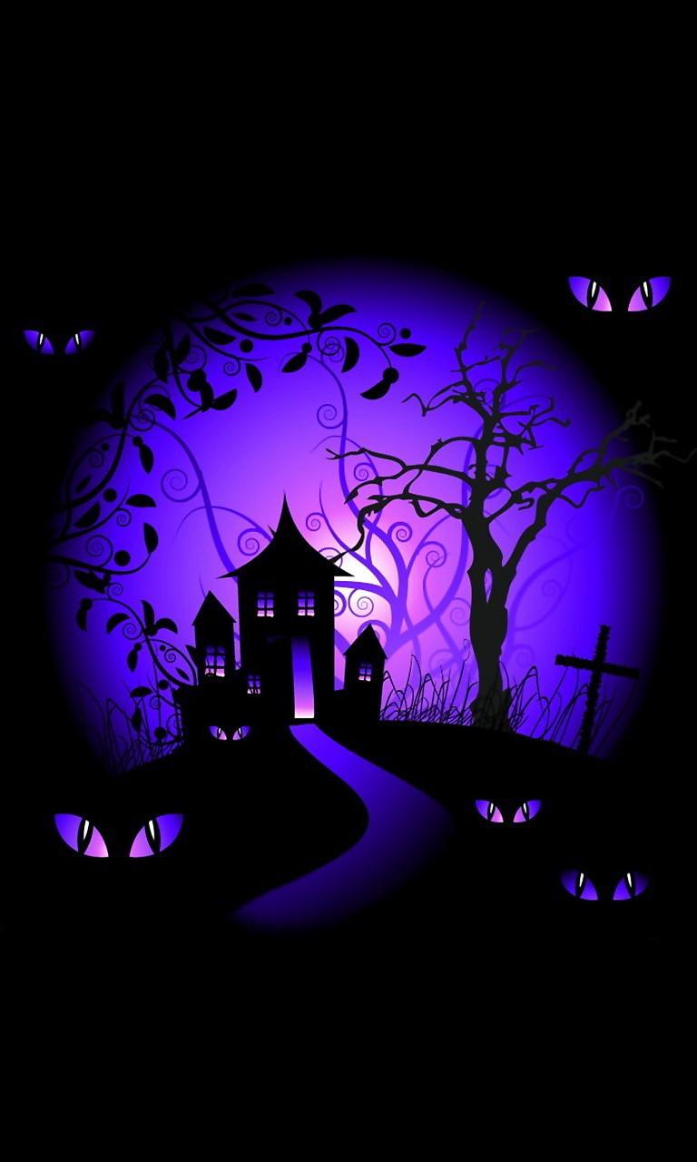 Free Halloween Night.jpg phone wallpaper by twifranny