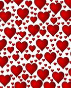 Heart Pattern Wallpaper