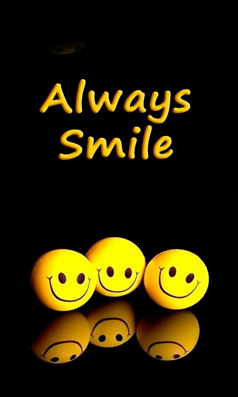 Free Always Smile.jpg phone wallpaper by twifranny