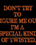 Special Twisted