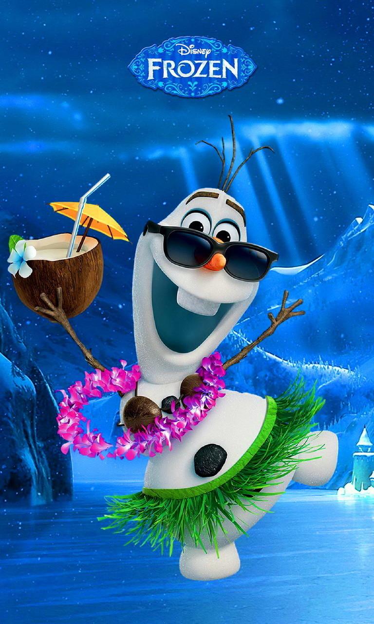 Free Olaf, Frozen.jpg phone wallpaper by twifranny