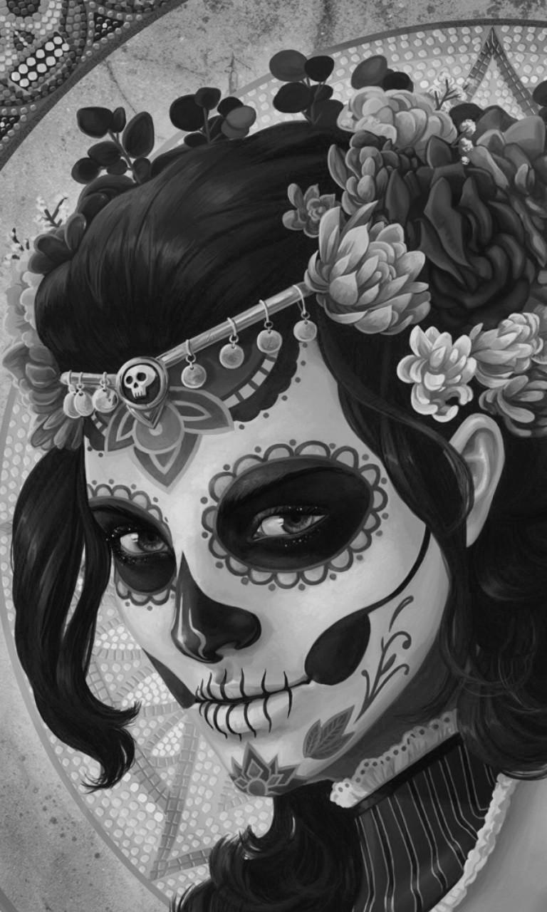 Free Dia-De-Los-Muertos.jpg phone wallpaper by twifranny