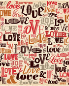 Love Pattern wallpaper 1