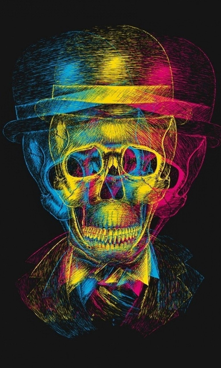 Free Skull Art wallpaper.jpg phone wallpaper by twifranny
