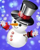Top Hat Snowman.jpg wallpaper 1