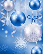 Christmas Balls light blue\white.jpg wallpaper 1