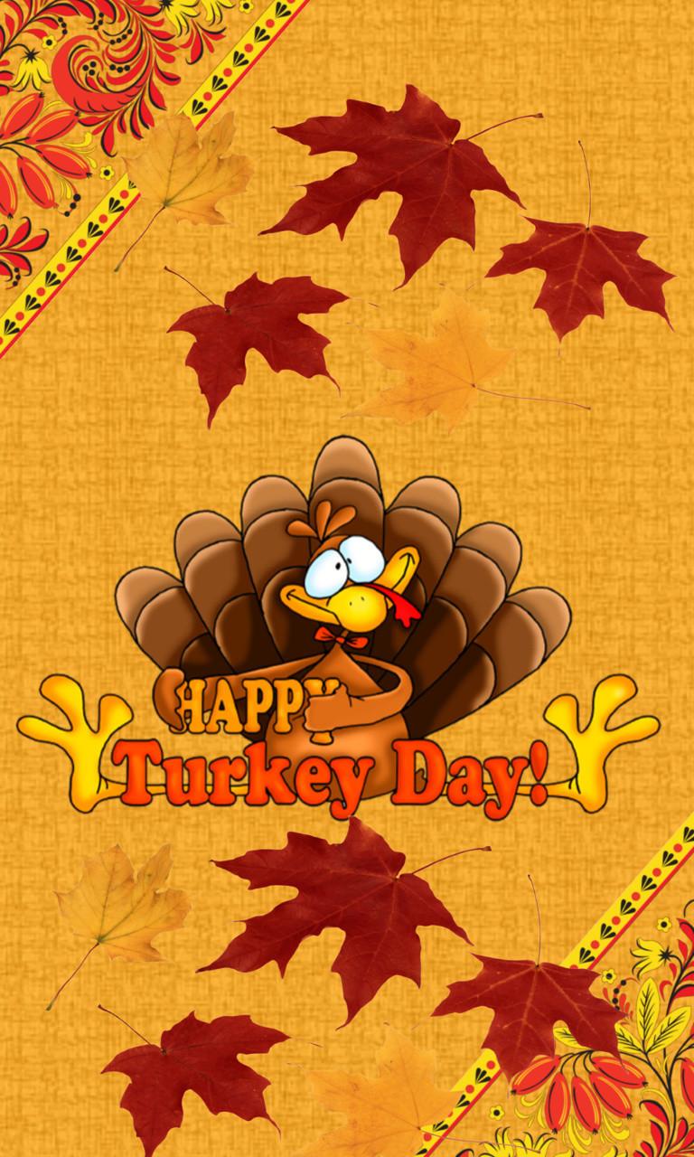 Free Happy Turkey Day.jpg phone wallpaper by twifranny