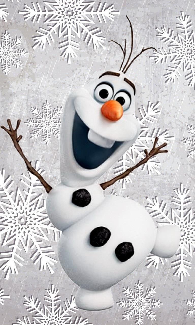 Free Christmas Olaf-2.jpg phone wallpaper by twifranny