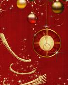 Christmas Clock.jpg wallpaper 1