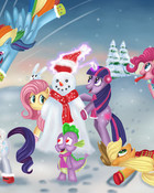 my little pony snow day
