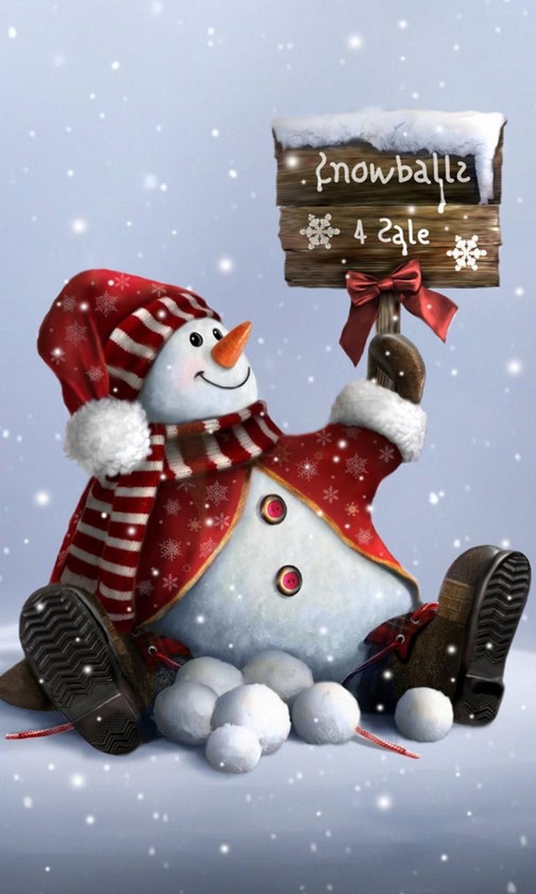 Free Snowman.jpg phone wallpaper by twifranny