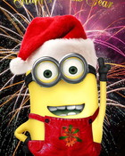 Happy New Year Minion.jpg wallpaper 1