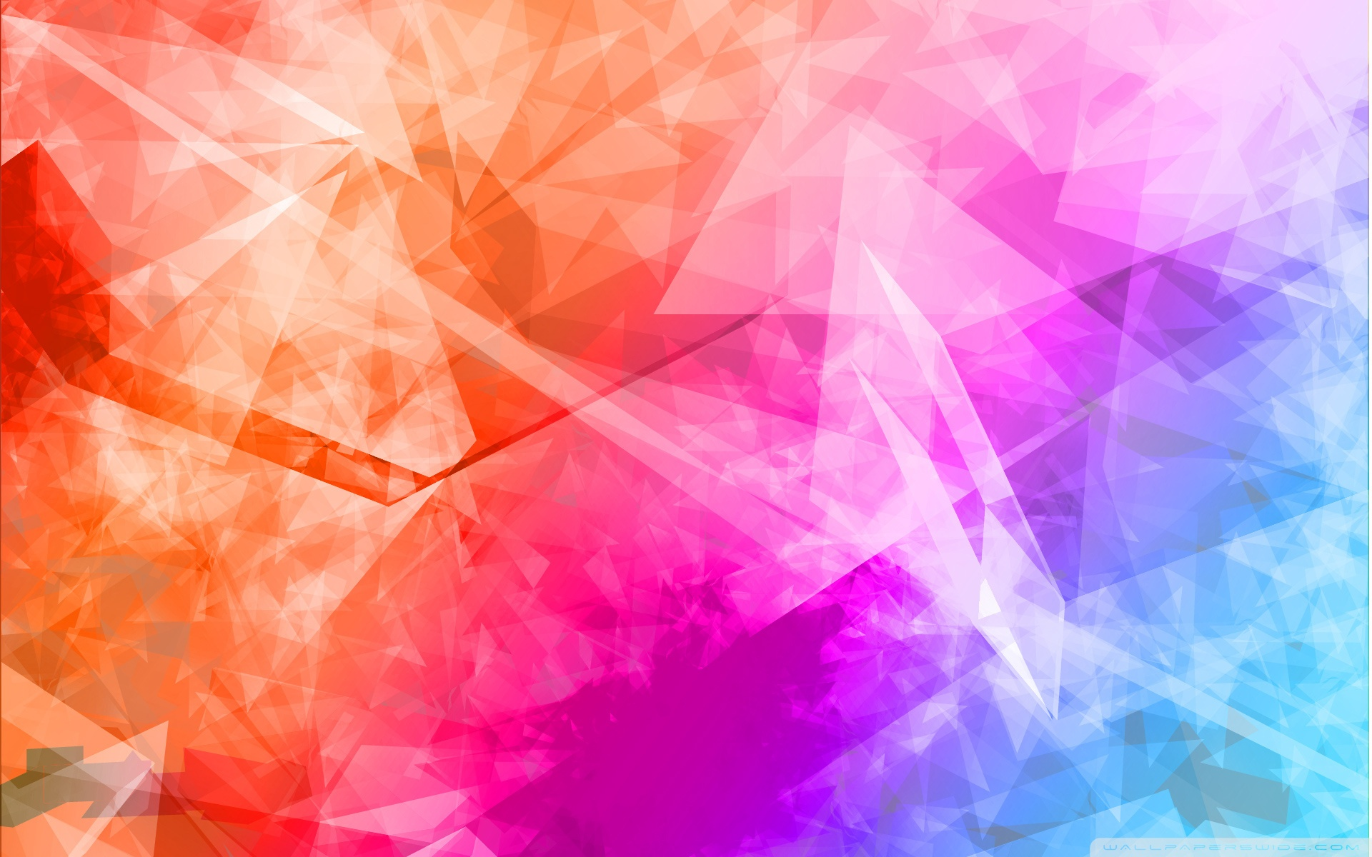 Free Abstract polygonal colorful phone wallpaper by shollandsworth