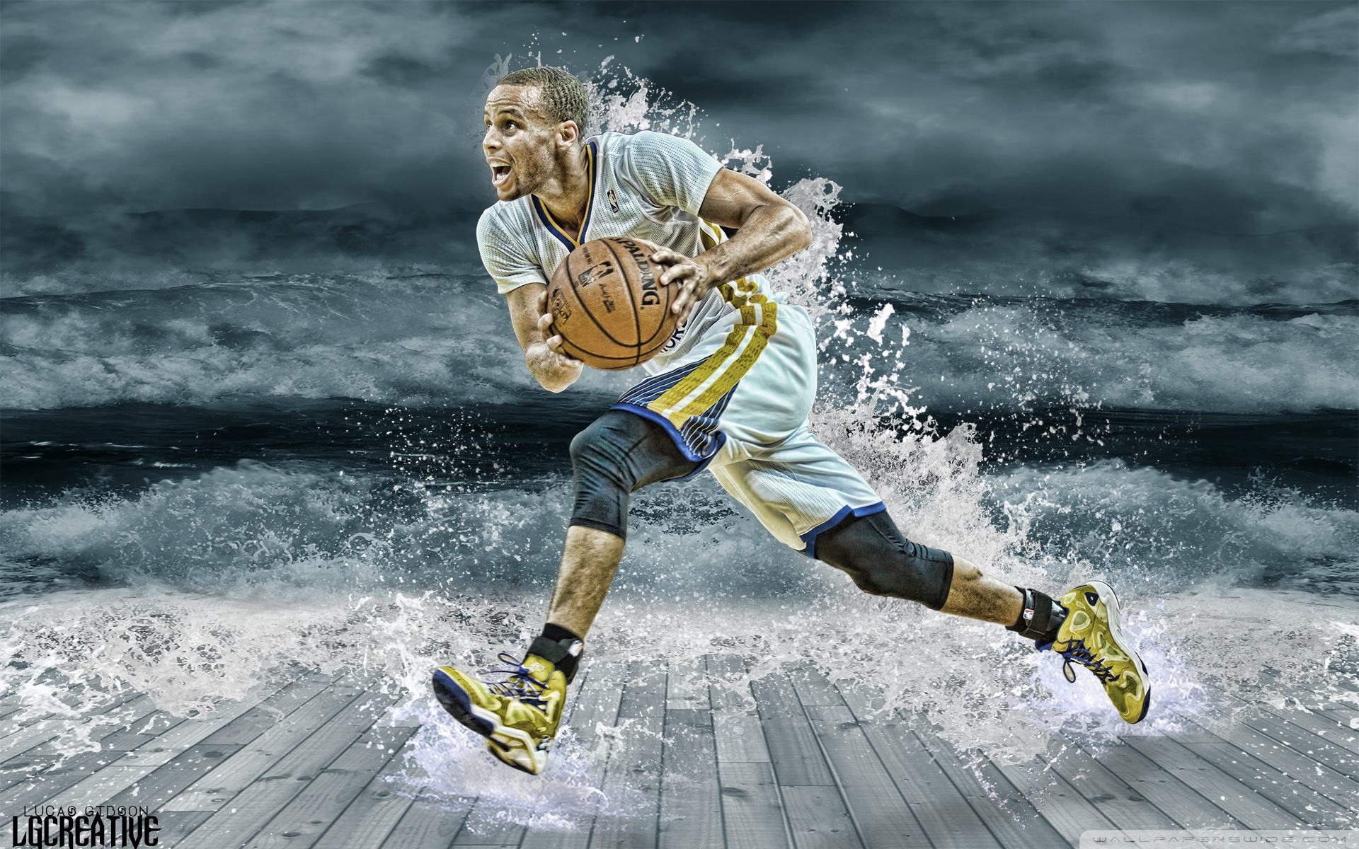 Free Stephen Curry Splash phone wallpaper by rhall01