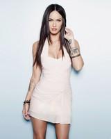 Megan Fox In White Dress