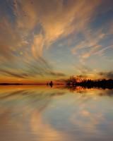 Symmetrical Sky Reflection