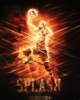 Stephen Curry Splash wallpaper 1