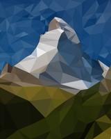 Low Poly Matterhorn