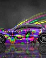 BMW M6 Super Abstract Car