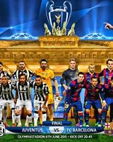 JUVENTUS - FC BARCELONA CHAMPIONS LEAGUE