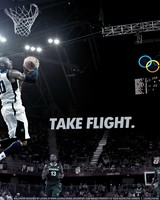 Kobe Bryant take flight