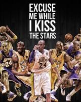 Kobe Bryant Kiss the Stars