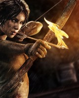 Lara Croft Bow and Arrow