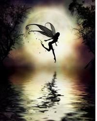 enchanted fairy wallpaper 1