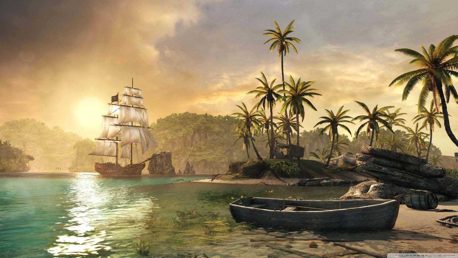 Free Assassins Creed IV Black Flag phone wallpaper by kvnwhitten