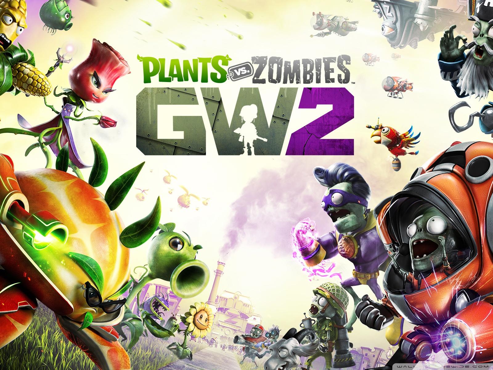 Free Plants vs. Zombies Garden Warfare 2 phone wallpaper by songman