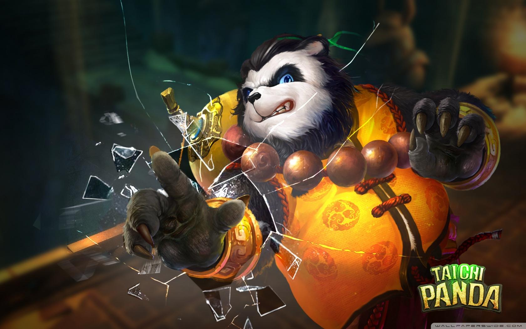 Free Taichi Panda phone wallpaper by MossyRedOak88