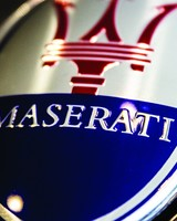 Maserati Logo Close-Up