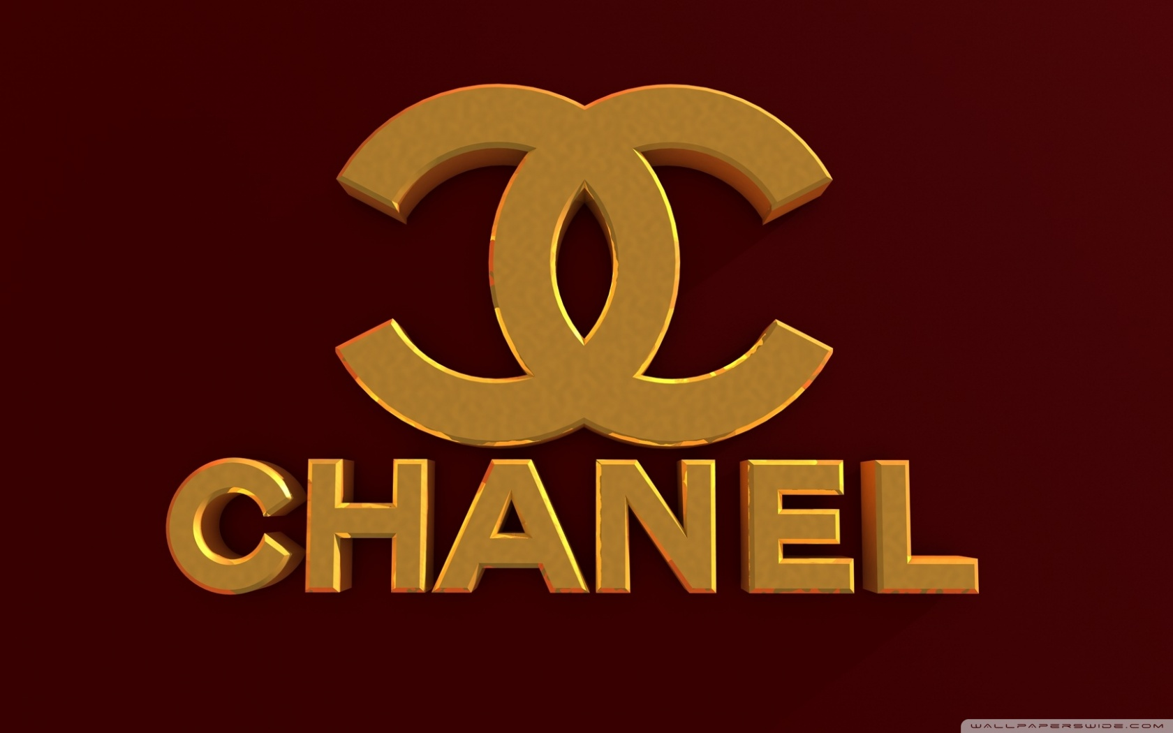 Free Chanel Logo Bordeaux Red phone wallpaper by bigcat93