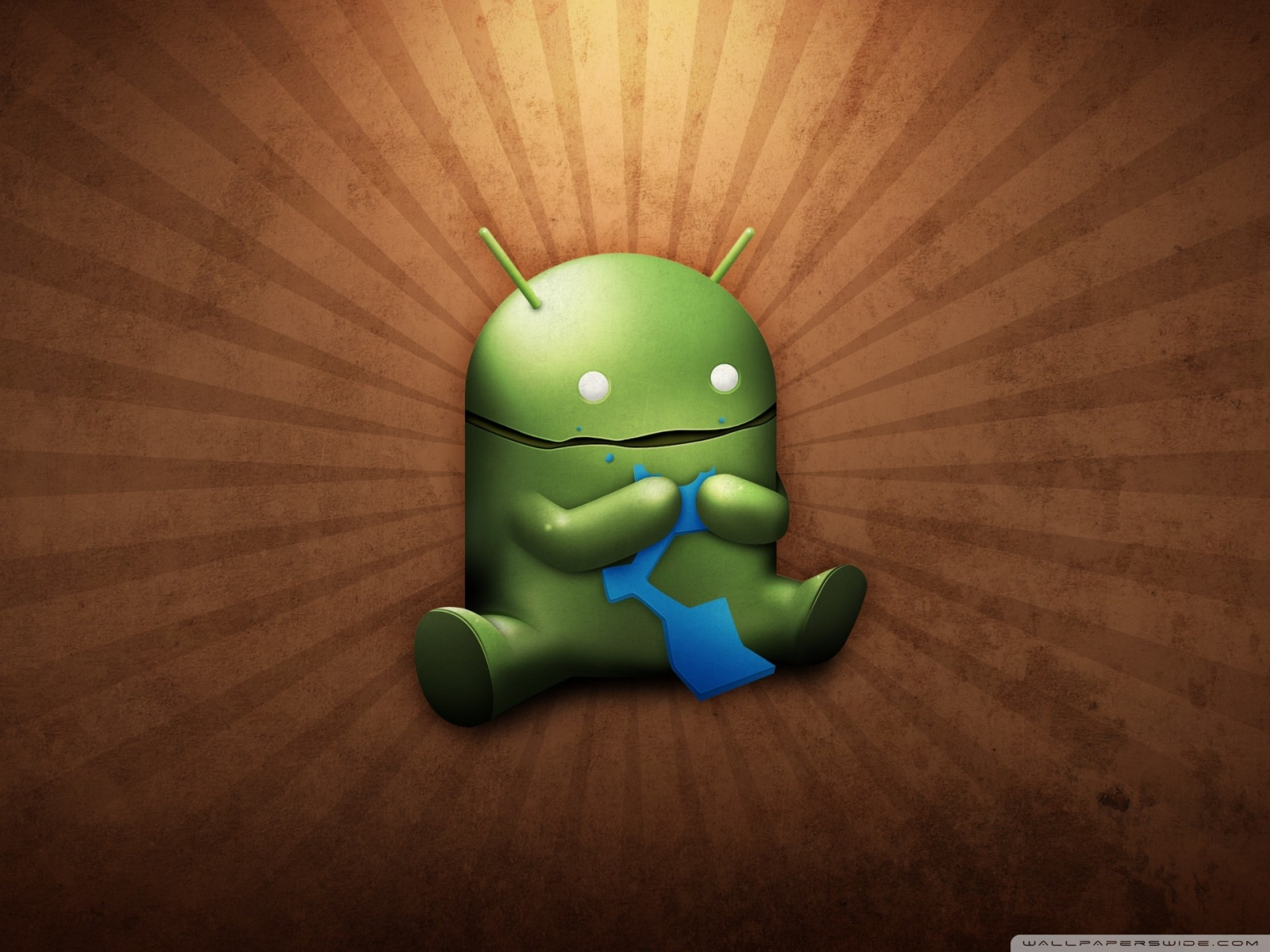 Free Funny Android Robot phone wallpaper by tina52262
