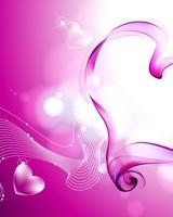 Pink Love Hearts Smoke