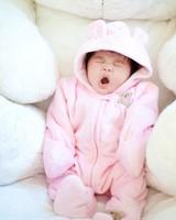 Cute Baby Yawning