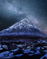 Milkyway Over Scottish Highlands