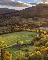 Balquhidder Village landscape, Scotland