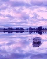 Morning Reflection Loch Rusky, Scotland