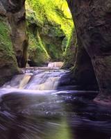 Finnich Gorge Waterfalls