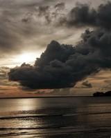 Dark Clouds - Beach