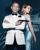 Daniel Craig, Lea Seydoux, Spectre