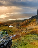 The Storr Hill Panorama, Scotland